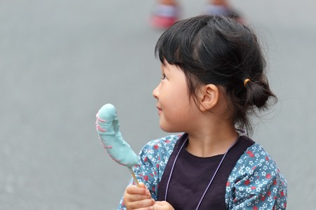 2009.08.04 富士市 甲子祭 チョコバナナ