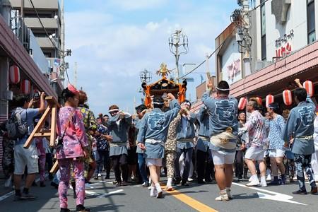 2009.08.04 富士市 甲子祭 御神輿