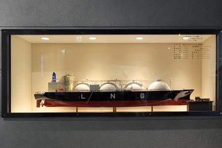 2013.08.19 MARK IS みなとみらい LNG運搬船 模型