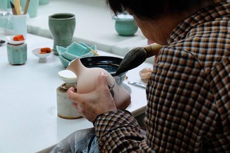 2013.11.03 佐賀 大川内山 絵付け筆