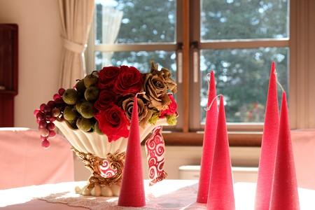 2013.11.21 山手 横浜市イギリス館 テーブルの飾り