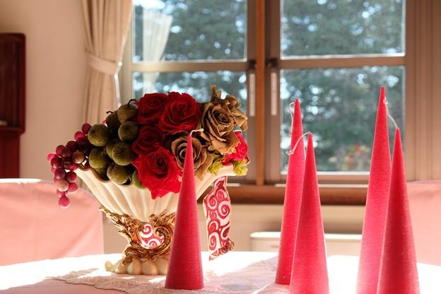 Photos: 2013.11.21 山手 横浜市イギリス館 テーブルの飾り