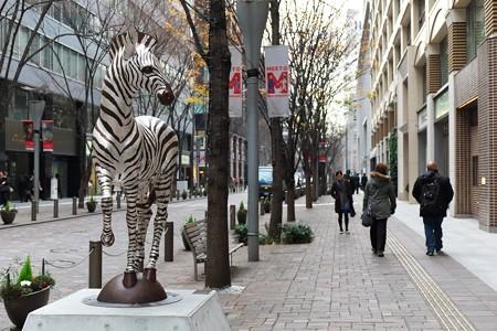 2013.12.26 丸の内仲通り 「G-proportion」2013 安藤泉