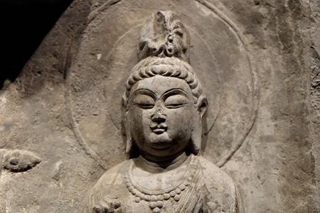 2014.01.08 東京国立博物館 如来三尊仏龕 西安宝慶寺