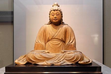 2014.01.08 東京国立博物館 八幡三神坐像 息長足姫坐像 慶覚作