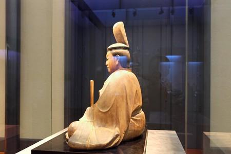 2014.01.08 東京国立博物館 八幡三神坐像 八幡神坐像