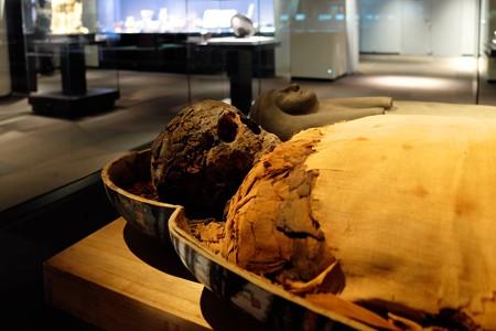 2014.01.08 東京国立博物館 パシェリエンプタハのミイラ エジプト・テーベ出土