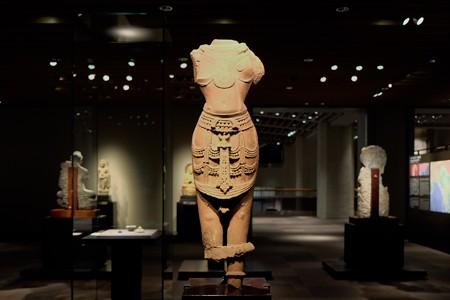 2014.01.08 東京国立博物館 男神立像 インド・カジュラーホ周辺