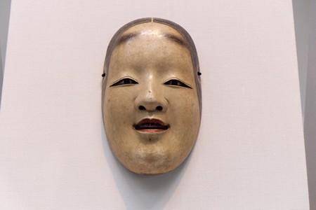 2014.01.08 東京国立博物館 能面 小面 「天下一河内」焼