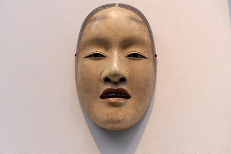 2014.01.08 東京国立博物館 能面 増女 「天下一是閑」焼印