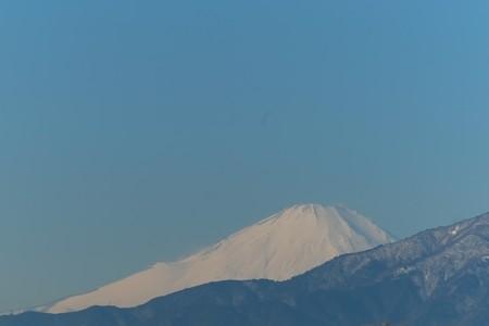 2014.01.11 駅前 富士山