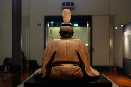 2014.02.07 東京国立博物館 八幡三神坐像 八幡神坐像
