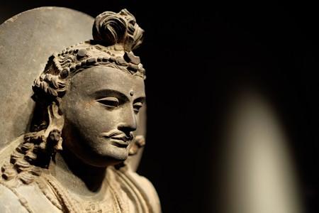 2014.02.07 東京国立博物館 菩薩立像 パキスタン・ガンダーラ TC-81