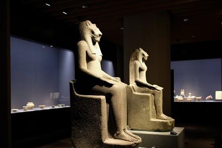 2014.02.07 東京国立博物館 サクメト女神倚像 エジプト TC-422