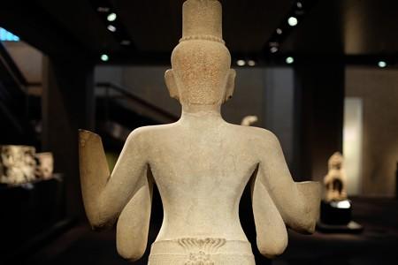 2014.02.07 東京国立博物館 ローケーシュヴァラ立像 アンコール・トム死者の門 TC-407