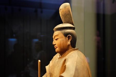 2014.02.07 東京国立博物館 八幡三神坐像 八幡神坐像 横顔