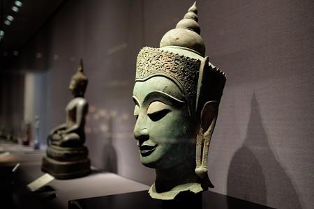 2014.02.07 東京国立博物館 宝冠如来頭部 タイ・アユタヤ