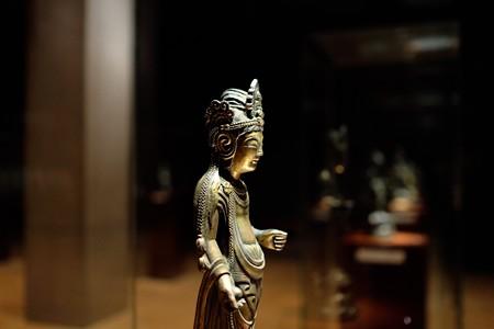 2014.02.07 東京国立博物館 観音菩薩立像 法隆寺献納宝物 N-175