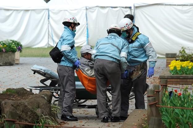 2014.04.09 横浜公園 救急活動