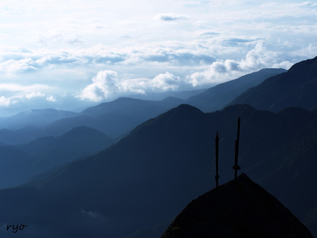 甲斐駒ヶ岳 信仰の山