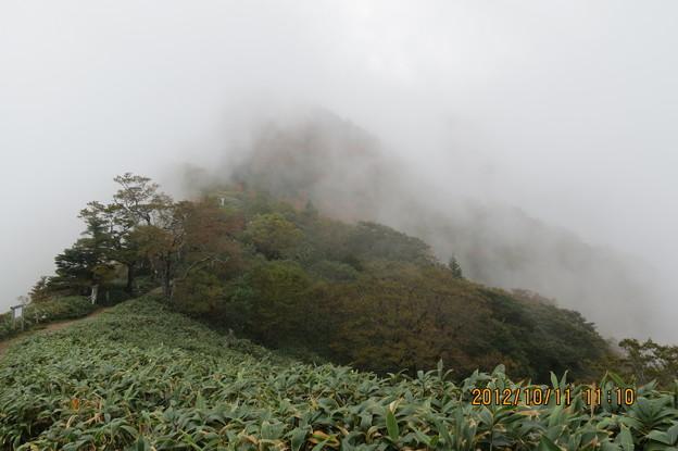 Photos: 20121011 石鎚山 晴れていたら