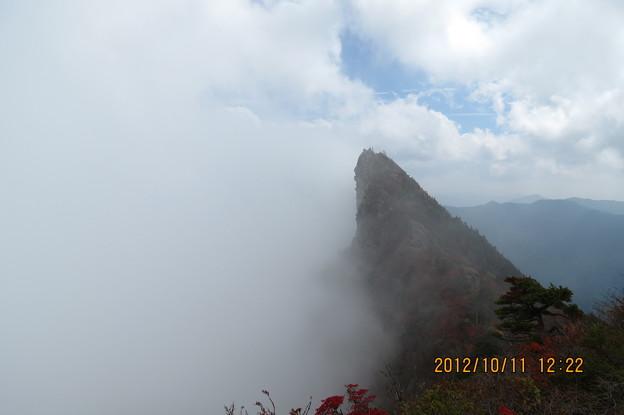 Photos: 20121011 石鎚山 あっ。