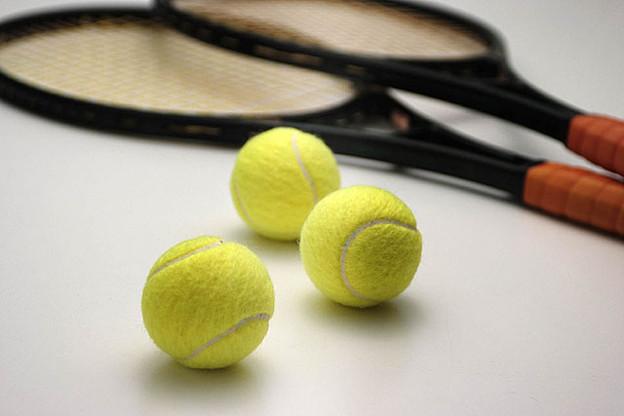 写真: 安井政昭 テニス用品(RACKET・BALL)写真