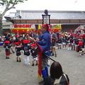 御坊祭り 上組の大将 奴踊り