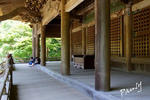 写真: 木染月の妙本寺・・7