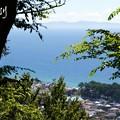 写真: 西湘の海と・・4