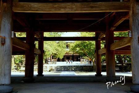 三門・・神無月の円覚寺 31