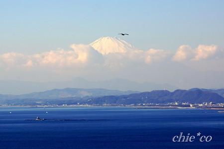 烏帽子岩と・・富士山と・・江の島 さんぽ~8