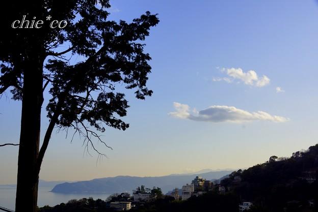 素敵な雲が浮かぶ風景・・伊豆山神社~12