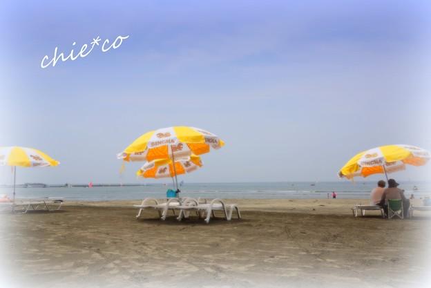 夏のビーチ・・2