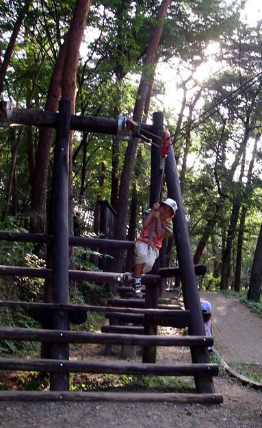 午後も森林公園で ヤァ~ッ!