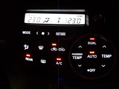 エスティマ LED打ち替え エアコンパネル