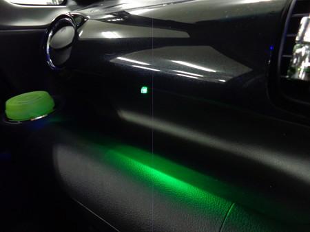 N-BOX 岐阜県 アンダーネオン確認用LED
