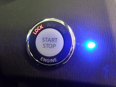 オデッセイRB3 後付プッシュスタート2取付 LED