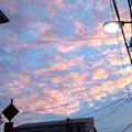 写真: キレイな夕空だ!!(文京グ...