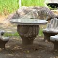 Photos: お寺の椅子