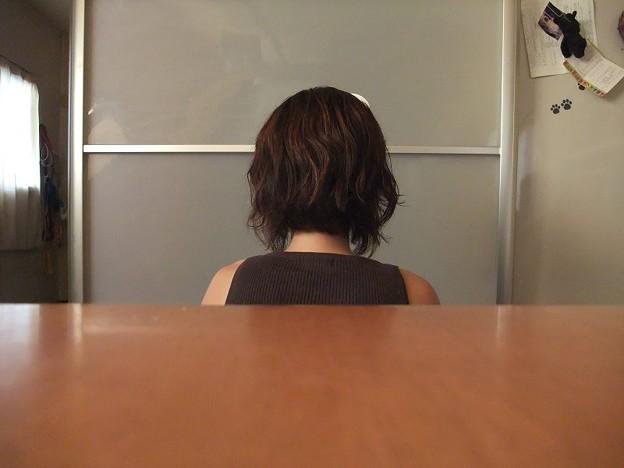 Photos: バッサリと!