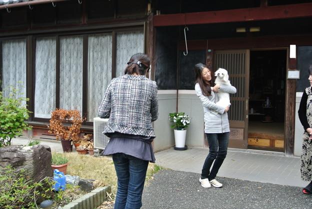 Photos: コッスン、ばいばい~~~!
