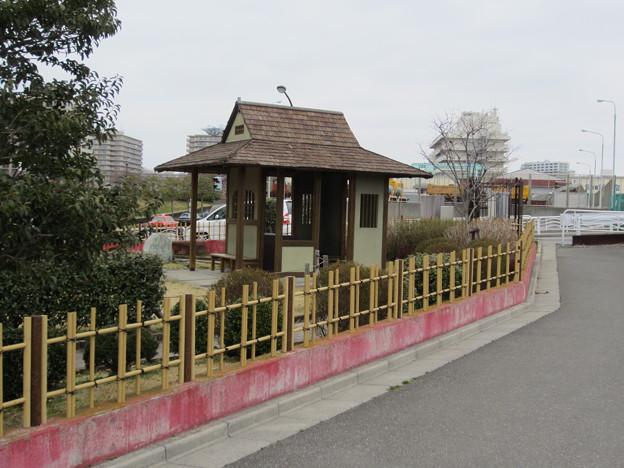 旧中川沿いの中川船番所跡