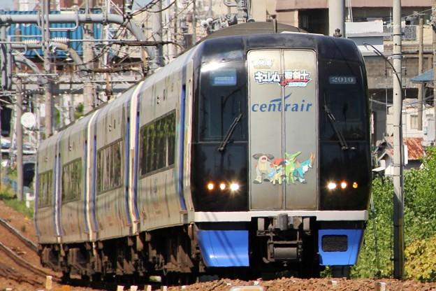 名鉄2000系2010F ポケモン2012 聖剣士号