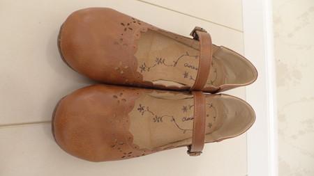 購入の森ガール風なペタンコ靴 ...