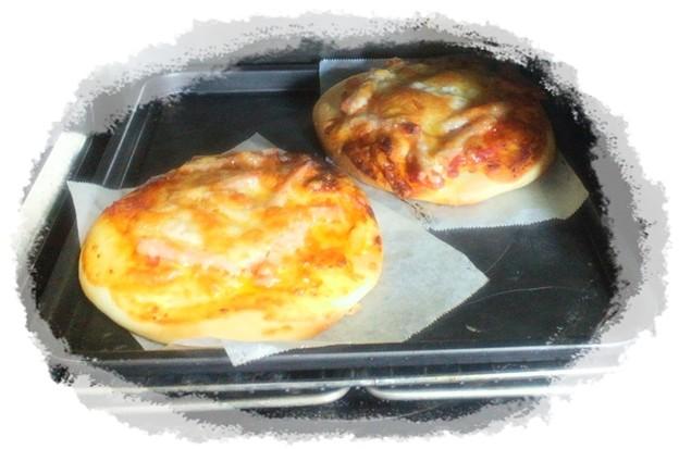 スパム&チーズピザ