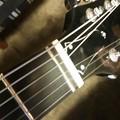 写真: 気まぐれにChaki でE-Blues を弾く。鳴らない。好いギターやけど、やっぱしもて余す( ・∀・)2