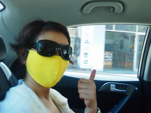 Photos: マスク着用