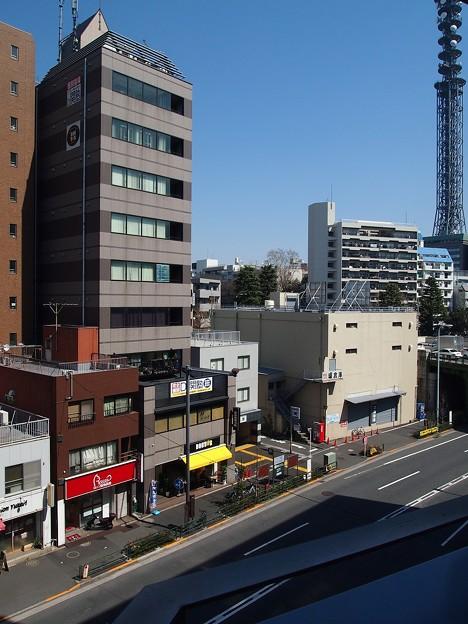 TVB曙橋ビル~ベランダ眺望