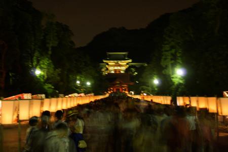 ぼんぼり祭り2012、鎌倉!